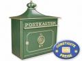 Nostalgischer Briefkasten grün Cenator BW 131