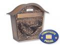 Briefkasten kupfer Cenator BW 171