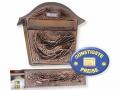Briefkasten kupfer mit Zeitungsbox Cenator BW 172