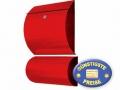 Briefkasten mit Box rot Cenator KN 307