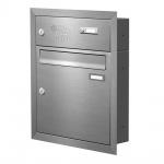 Unterputz Briefkasten mit Funktionskasten Edelstahl Cenator KN-UP-11-110-E