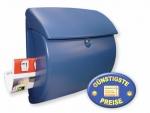 Briefkasten Kunststoff blau Cenator BW 100
