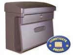 Kunststoff Briefkasten klassisch braun Cenator BW 109