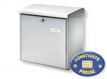 Edelstahl Briefkasten Cenator BW 117