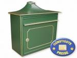 Antik-Briefkasten grün Cenator BW 135