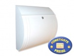 Briefkasten klein weiß Cenator BW 152
