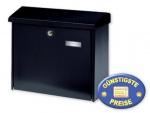 Briefkasten schwarz Cenator BW 154