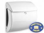 Briefkasten Kunststoff weiß glänzend Cenator BW 556