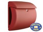 Briefkasten Kunststoff rot matt Cenator BW 579