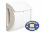 Briefkasten Kunststoff weiß Cenator BW 97