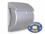 Briefkasten Kunststoff silber Cenator BW 98