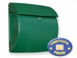 Briefkasten Kunststoff grün Cenator BW 99
