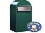 Großraum-Briefkasten grün Cenator BF 406