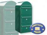Briefkastenanlage 3 Fächer grün Cenator BF 448