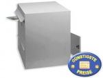 Anlagen-Briefkasten 2 Fächer silber Cenator BW 191