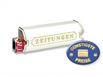 Zeitungsbox weiß Cenator BW 142