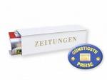 Zeitungsbox weiß Cenator BW 195