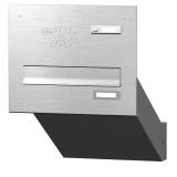 Mauerdurchwurf Briefkasten mit Funktionskasten Edelstahl Cenator KN-MD-11-OR-E