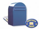 Zaunbriefkasten blau Cenator BF 376