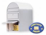 Briefkasten Edelstahl mit Paketfach Cenator BF 388