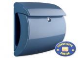 Briefkasten Kunststoff hellblau glänzend Cenator BW 577
