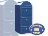 Briefkastenanlage 3 Fächer blau Cenator BF 444