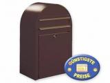 Briefkasten braun Cenator BF 369