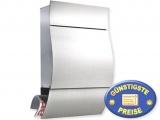 Luxus-Briefkasten Edelstahl Cenator BW 114