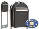 Briefkasten freistehend grau Cenator BF 463