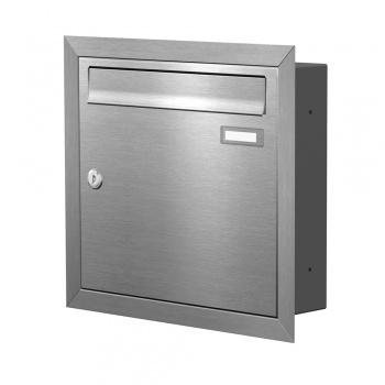 Unterputz Briefkasten Edelstahl Cenator KN-UP-10-110-E