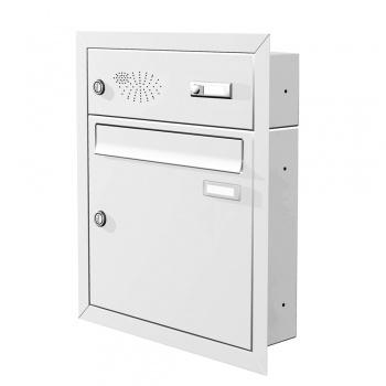 Unterputz Briefkasten mit Funktionskasten Cenator KN-UP-11-110