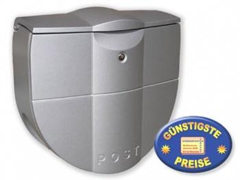Kunststoffbriefkasten graphit Cenator BW 107
