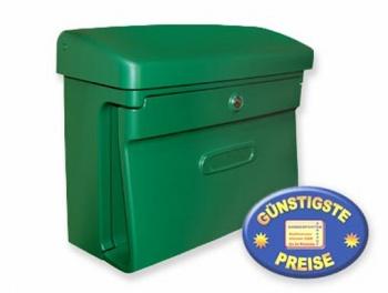Kunststoff Briefkasten klassisch grün Cenator BW 110