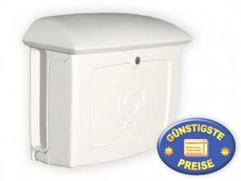 Briefkasten Kunststoff weiß Cenator BW 111