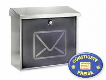 Briefkasten Edelstahl Cenator BW 118