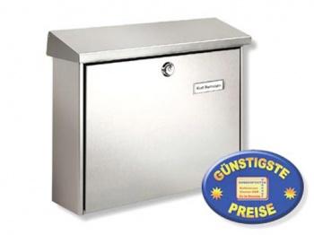 Edelstahl Briefkasten Cenator BW 123