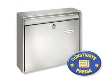 Anlagen-Briefkasten Edelstahl Cenator BW 125