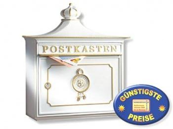 Nostalgischer Briefkasten weiß Cenator BW 130