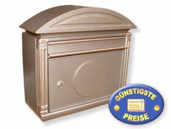Aluguss-Briefkasten bronze Cenator BW 139