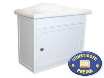 Briefkasten klassisch weiß Cenator BW 148