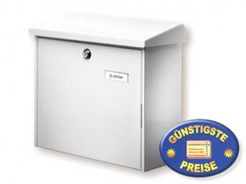 Briefkasten weiß Cenator BW 155