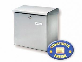 Briefkasten silber Cenator BW 156