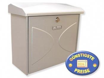 Briefkasten silber Cenator BW 165
