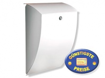 Briefkasten weiß Cenator BW 168