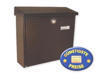 Briefkasten braun Cenator BW 176