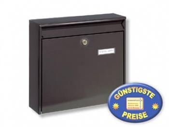 Anlagen-Briefkasten braun Cenator BW 183