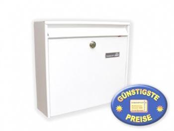 Anlagen-Briefkasten weiß Cenator BW 185