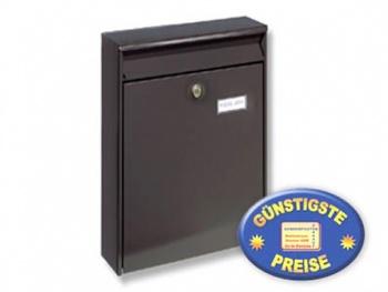 Anlagen-Briefkasten braun Cenator BW 187