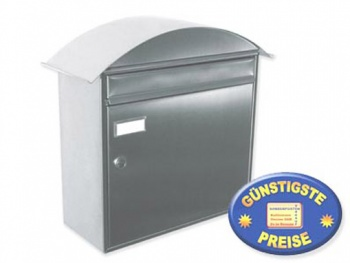 Briefkasten aus Edelstahl Cenator KN 298