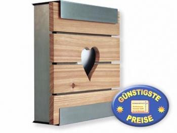 Luxusbriefkasten Edelstahl Cenator KE 356